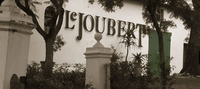 Le Joubert / ABOUT US